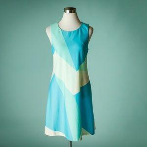 Julie Brown M Ronnie Colorblock Dress NWT